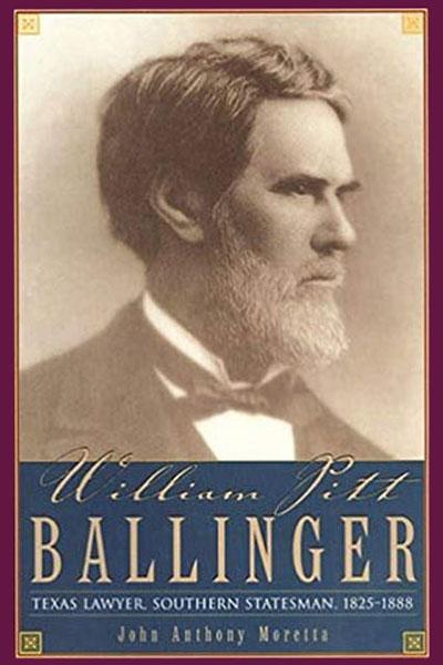 Cover image for William Pitt Ballinger