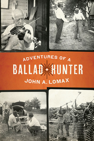 Cover image for Adventures of a Ballad Hunter