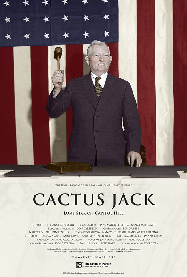 Promotional poster for Cactus Jack: Lone Star on Capitol Hill
