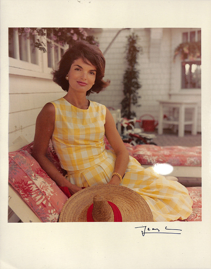 Portrait of Jacqueline Kennedy, Hyannis Port, Mass., August 1960. © The Estate of Jacques Lowe.