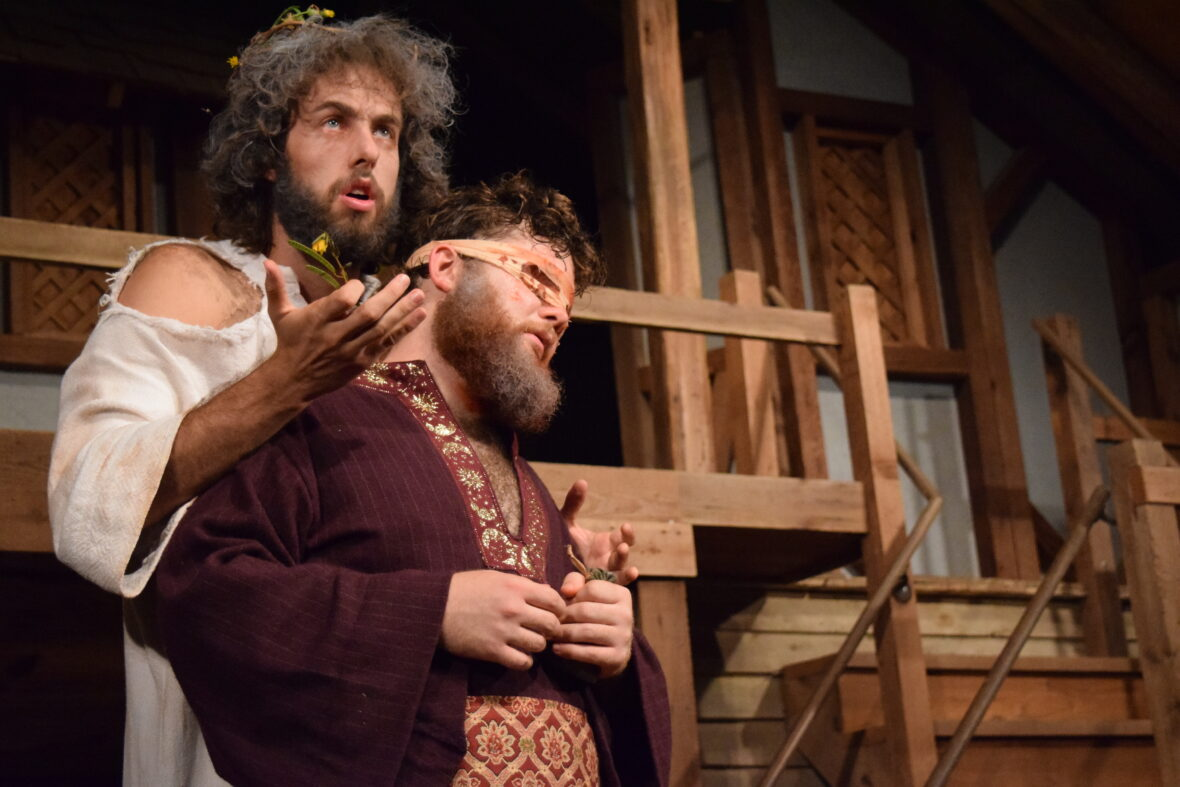 UT Shakespeare at Winedale's 2017 King Lear production. Courtesy Liz Fisher/ The University of Texas at Austin Shakespeare at Winedale.