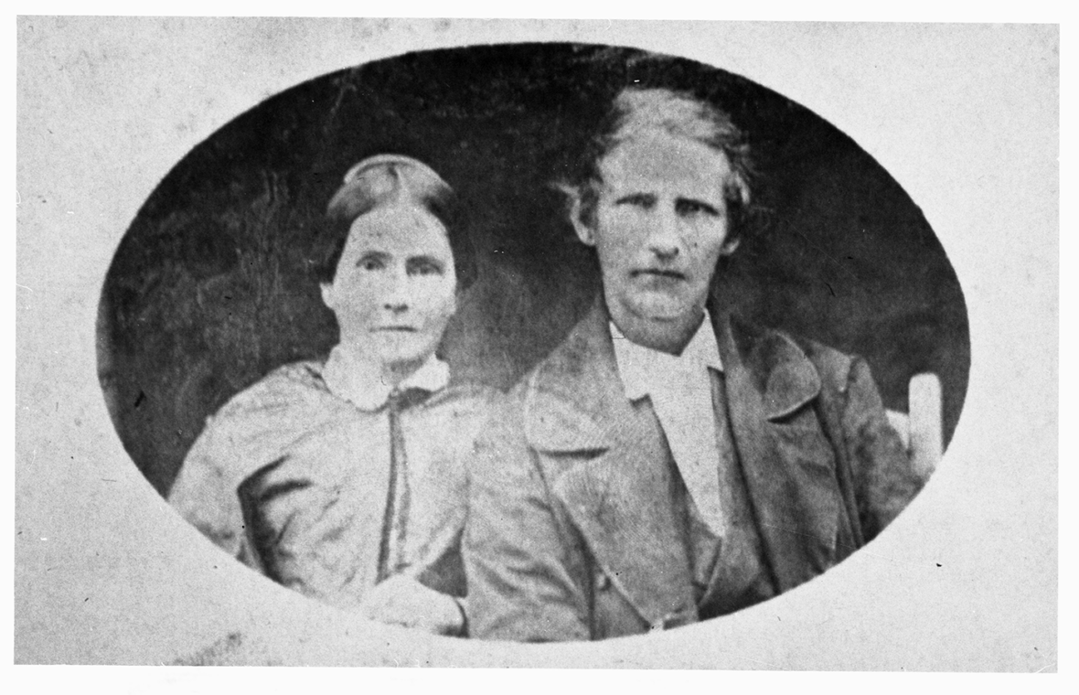 Portrait of Mr. and Mrs. John Rabb taken by H. R. Marks, ca. 1860. Prints and Photographs Collection. di_00808