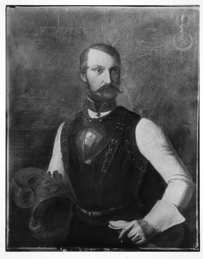 Portrait of Prince Carl of Solms-Braunfels. Adina Emilia De Zavala Papers. di_01848