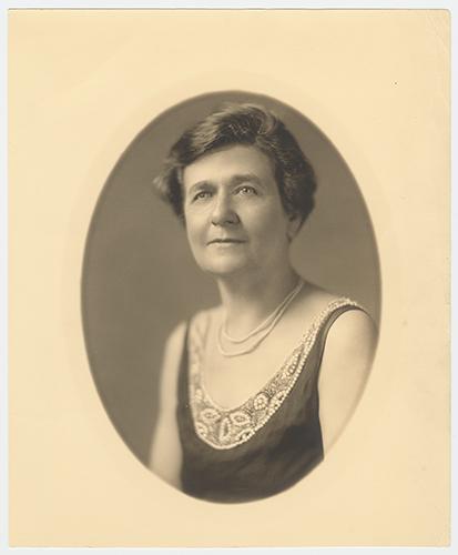 Studio portrait photograph of Mariette Rheiner Garner, wife of John Nance Garner. John Nance Garner Papers. di_11130